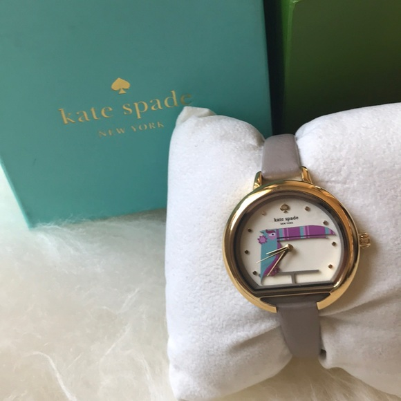 NWT Kate spade Toucan Watch leather band w  box f2f7b27e23b